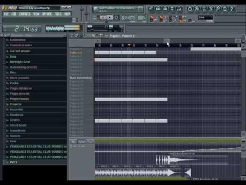 DjBendis - Time To Say Goodbye  FL Studio Edit + Downloadable MP3