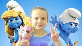 СИНИЕ ГНОМИКИ!! 💙❤️🍄 Мультобзор от Ксюши Потоцкой! 👸Трейлер 2017! Видео для детей!