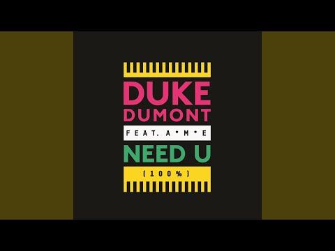 Need U (100%) feat. A*m*e (Radio Edit)