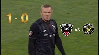 Wayne Rooney Free Kick Goal D.C. United vs Columbus Crew SC Highlights 24/04/2019