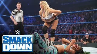 Lacey Evans vs. Camron Connors: SmackDown, Oct. 25, 2019