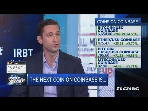 Coinbase looks to add five new coins