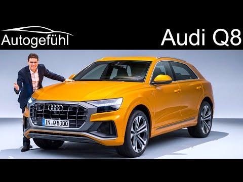 All-new Audi Q8 premiere REVIEW SUV Coupé 2019 - Autogefühl