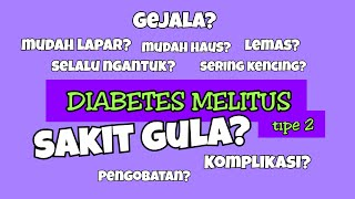 Penyebab & Jenis Penyakit Diabetes Mellitus.