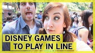 Games to Play at Disneyland | Thingamavlogs