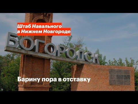 Константин Пурихов и Богородский район