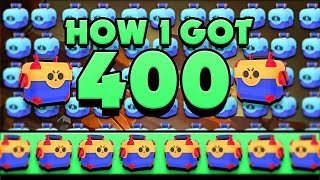 this is how i got over 400 boxes... in brawl stars