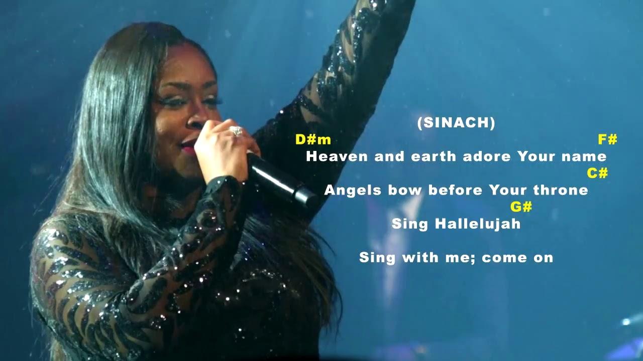 Sing Alleluia Hallelujah Chords Sinach