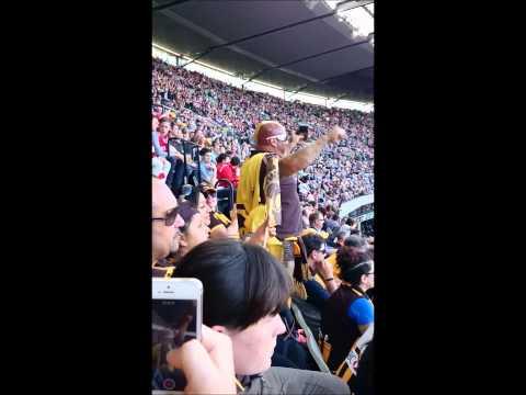 2014 AFL Grand Final - Crowd highlights