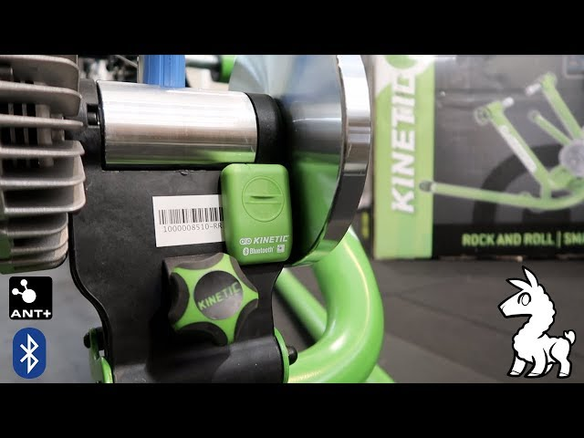 Kinetic Rock'n'Roll II Trainer with Updated inRide Sensor Module (ANT+/Bluetooth)