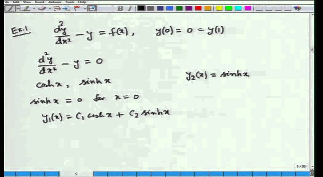 Mod-01 Lec-31 Calculus of Variations and Integral Equations