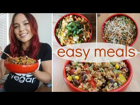 Easy One-Pot Vegan Meals // Healthy & Budget-Friendly