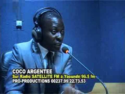 Coco Argentée Radio Satellite Yaoundé.mp4