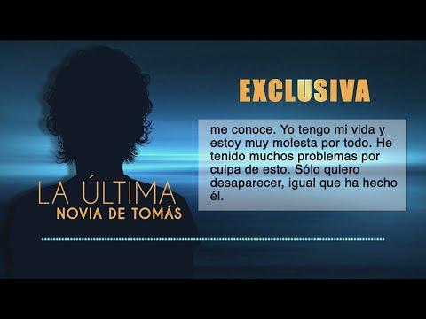 """""""Quiero desaparecer, igual que él"""". Habla la última novia de Tomás Gimeno"""