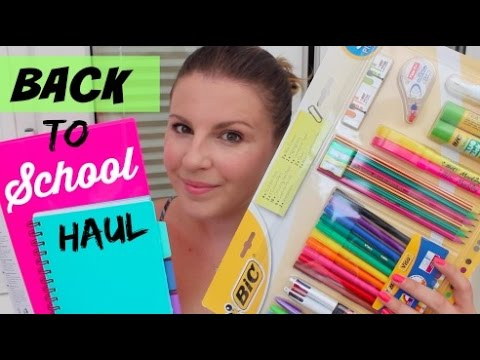 Back To School Haul With Tesco / AD