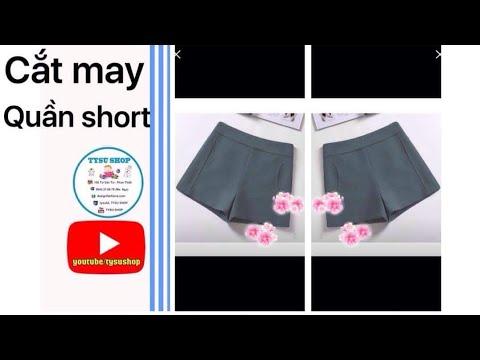 Dạy Cắt May Quần Short _827_tysushop  |sewing diy clothes
