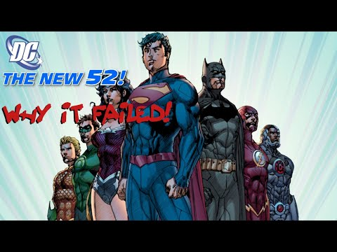 TOP 5 REASONS THE DC NEW 52 FAILED!!!!!!!!!!!!!!!!!!!!!!!!