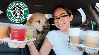 *EXPOSED* my favorite starbucks drinks of all time!!