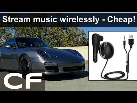 ✪ How to stream music in your car for $16 -  Porsche 997 Nulaxy Review ✪