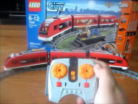 Lego City Passenger Train 7938 Lego City - Passenger ...