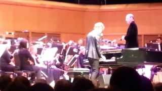 Ben Folds and the Scottish Festival Orchestra - Improvised song setup - live in Glasgow 2014-07-12
