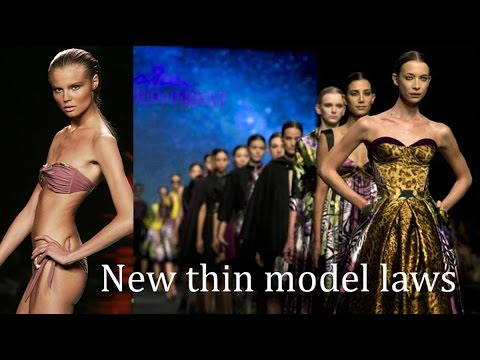 France law to ban the too thin fashion model