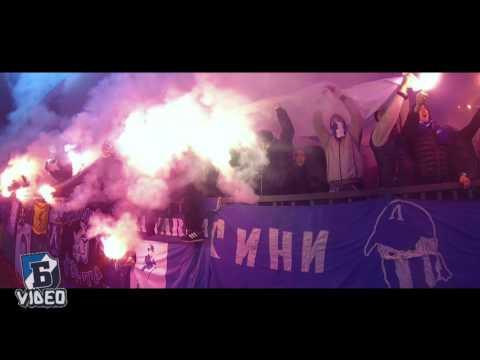 Ultras Levski in Lovech (08.12.2015)
