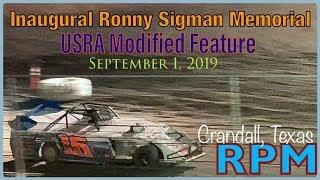 Ronny Sigman Memorial @ RPM Speedway