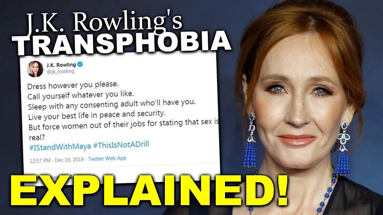 Is Jk Rowling Transphobic Yes And I Ll Explain How
