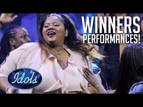 TOP 5 Performances | Winner Of Idols South Africa Noma Khumalo | Idols Global
