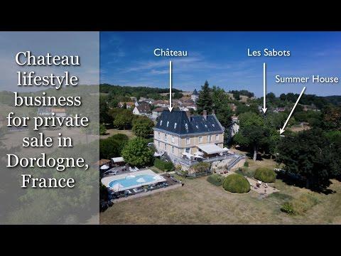 Chateau business For Sale in France 2017  Bed & Breakfast plus Gites & restaurant, Dordogne