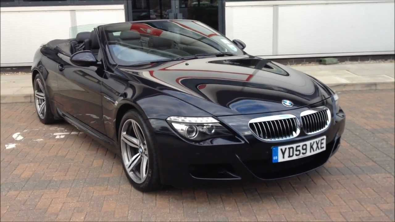 2010 59 bmw m6 convertible 5 0 v10 49 950 youtube. Black Bedroom Furniture Sets. Home Design Ideas