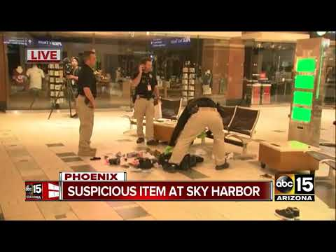 Authorities investigating unattended bag found at Sky Harbor