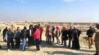 قناة السويس الجديدة : زيارة وفد وزارة الشباب ومحافظة المنيا لقناة السويس الجديدة