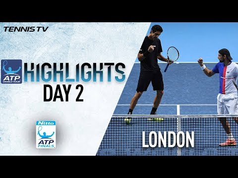 Highlights: Kubot/Melo Win To Clinch Top Spot Nitto ATP Finals 2017 Round Robin