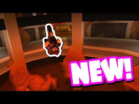 FLYING NEW MOTORCYCLE IN THE VOLCANO! (Roblox Jailbreak)