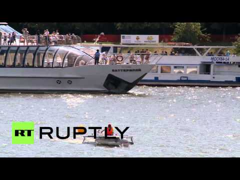 Russia: Watch first ever solar-powered boat regatta held in