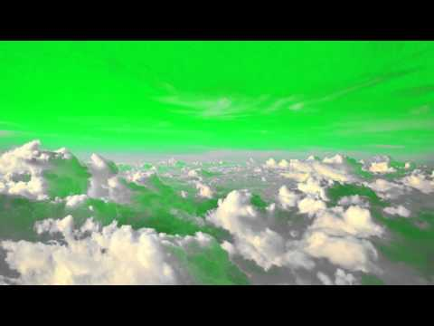 Above the Sky - Green Screen Footage  Free thumbnail