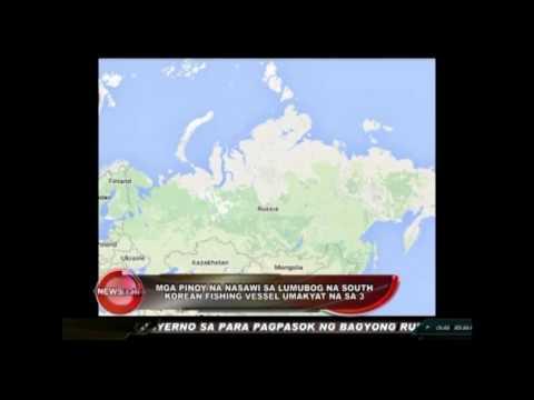 Pinoy casualties in sunken South Korean fishing vessel