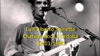 Luis Alberto Spinetta - Chateau Rock - 04/03/88