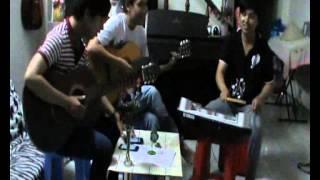 lặng thầm một tình yêu guitar trống
