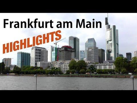 FFM - Frankfurt am Main - 4K Inner-City HIGHLIGHTS 2016