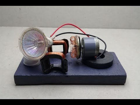 free-energy-electric-generator-using-dc-motor---diy-science-experiment-project-2018