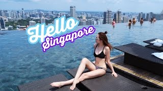 SINGAPORE TRAVEL VLOG | Gwenfckay