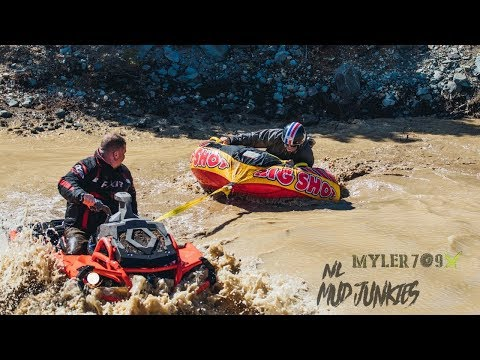 Buy a seadoo? Nahhh Mud junkie day at the lake Can-am style!