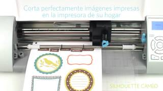 Silhouette Cameo (español) - ¿cómo funciona?
