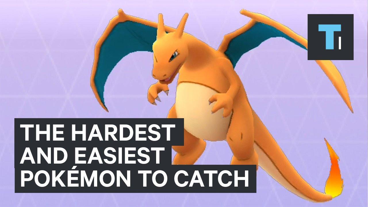 The hardest and easiest Pokémon to catch