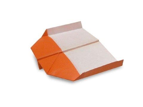 Cách gấp, xếp máy bay bằng giấy origami phi xa, cao lâu - Hướng dẫn kiểu 4
