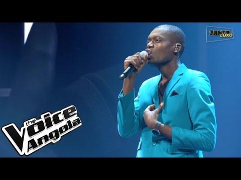 "Alfredo Yungi cantou ""Amo Essa Mulher"" / The Voice Angola 2015 / Show ao Vivo 2"