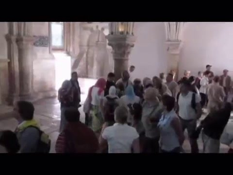 The Pentecost site - Mount Zion, Jerusalem - all you have to see in the important Crusader Room